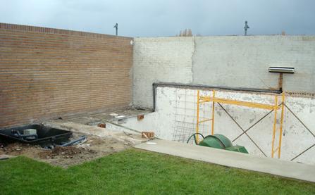 Cascadas para piscinas en madrid instalacion de cascadas for Accesorios para piscinas cascadas