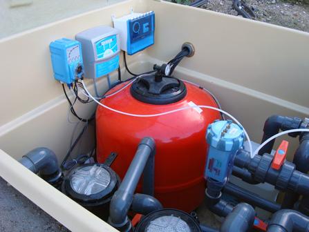 Cloradores salinos piscinas en madrid instalacion de - Precio clorador salino ...